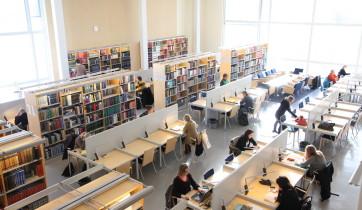 Turun yliopiston kirjasto, Feeniks-kirjaston lukusali.