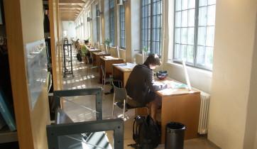 Arkenin kirjasto, Åbo Akademi.
