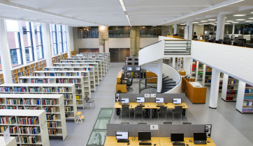 Lappeenrannan tiedekirjasto.